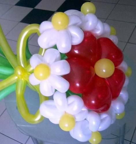 Букет из ромашек - Букеты из шаров - Фотоальбомы - Конфетти
